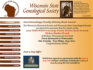 Wisconsin State Genealogical Society