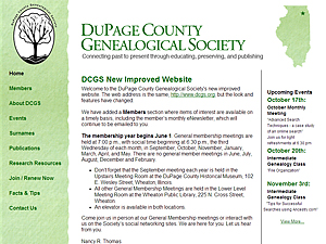 DuPage County (IL) Genealogical Society