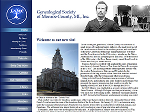 Genealogical Society of Monroe County, MI