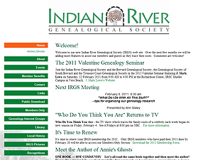 Indian River Genealogical Society, Inc.