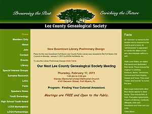 Lee County Genealogical Society, Inc.