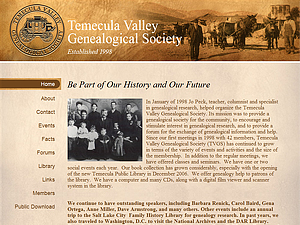 Temecula Valley Genealogical Society