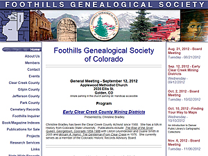 Foothills Genealogical Society, Inc.