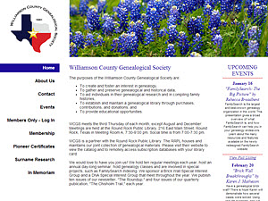 Williamson County Genealogical Society