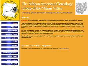 African American Genealogy Group of the Miami Valley, Inc.