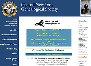 Central New York Genealogical Society