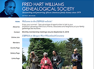 Fred Hart Williams Genealogical Society