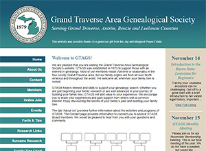 Grand Traverse Area Genealogical Society