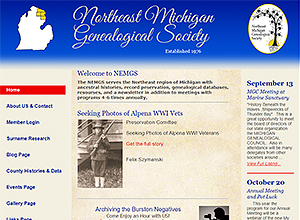 North East Michigan Genealogical Society