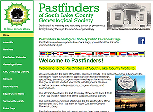 Pastfinders of South Lake County Genealogy Society
