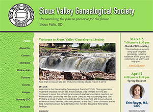 Sioux Valley Genealogical Society