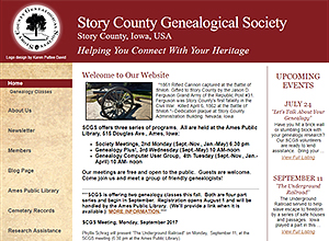 Story County Genealogical Society